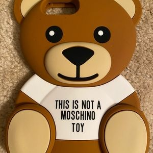 Moschino Bear iPhone 8 Plus Case